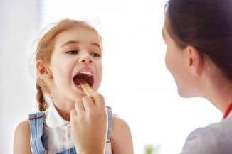 осипший голос у ребёнка