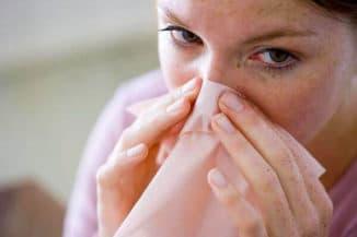 носоглодка и сухость в носу