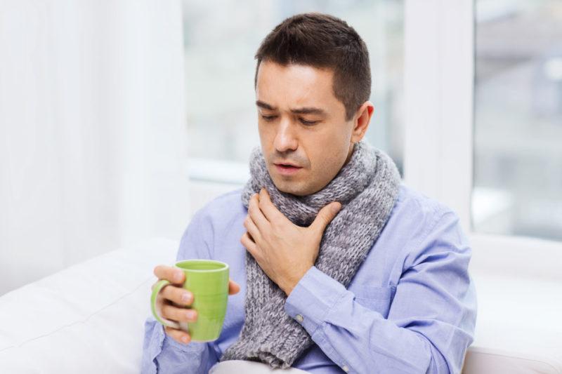 Какие бактерии вирусы вызывают боль в горле