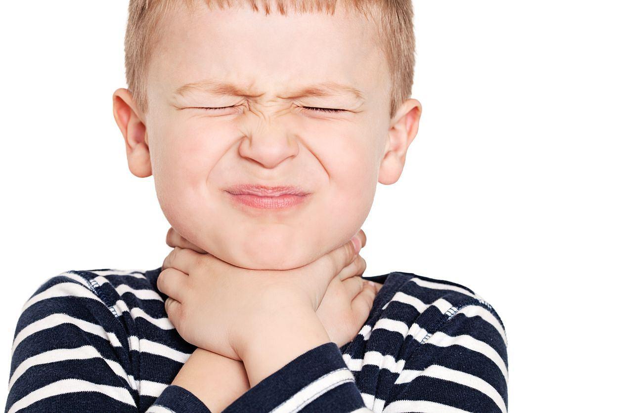 Как обработать горло перекисью водорода