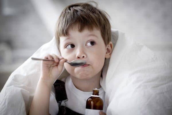 лечение сухого кашля у ребенка