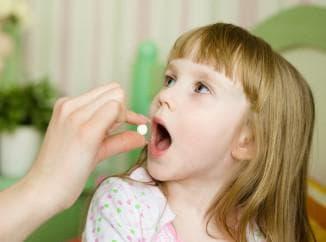 медикаментозное лечение ангины у детей