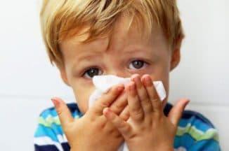 Насморк у детей до года лечение