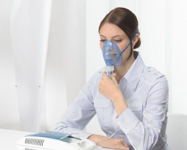 ингаляции с флуимуцилом при гайморите