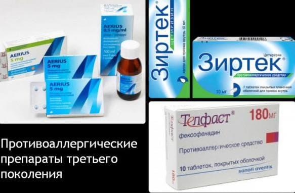 антигистамины для лечения кашля