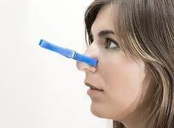 заложен нос, но простуды или насморка нет