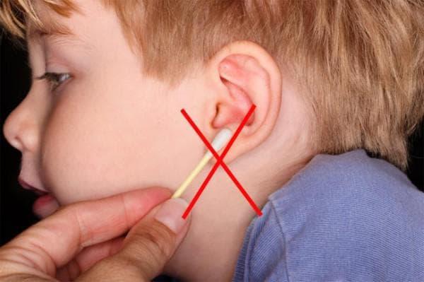 как удалить серную пробку у ребенка