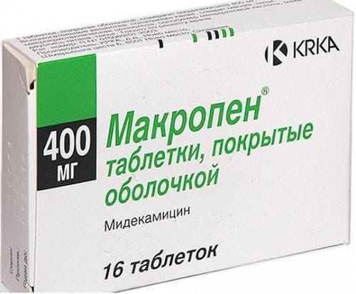Мидекамицин