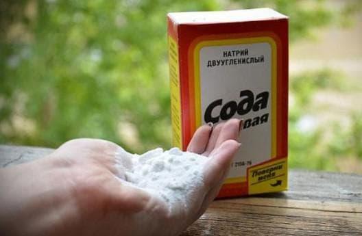 пищевая сода как ингредиент от кашля