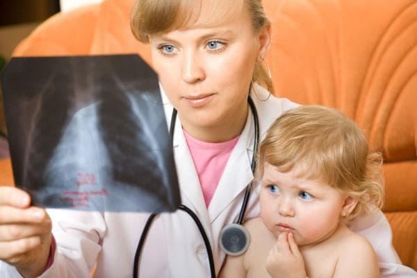 пневмания у ребёнка