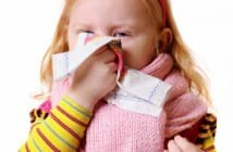 Как лечить у ребёнка в 3 года насморк