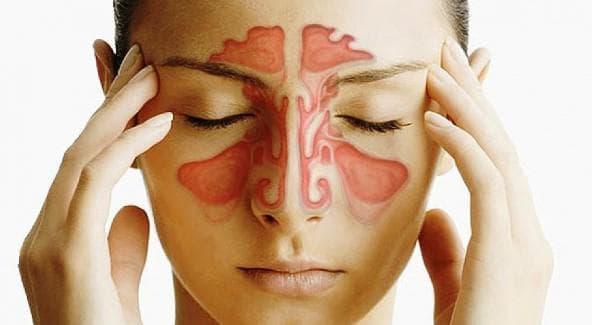 нарушение органов слуха при гайморите