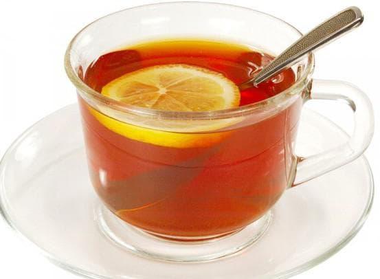 чай с лимоном от ангины