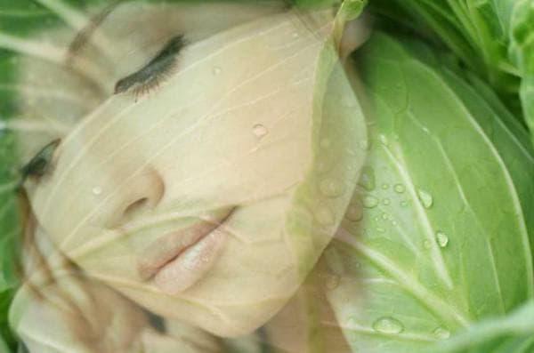 компресс из капустных листьев и меда на горло
