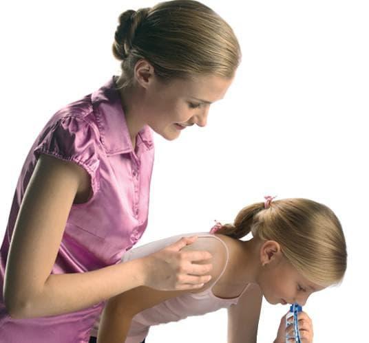 промывание носа при аденоидах