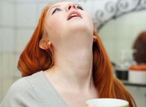 полоскание горла солью беременной