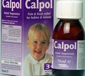 Калпол для лечения детей в домашних условиях
