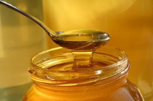 употребление чайной ложки мёда от горла