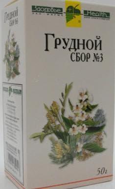 Грудные сборы для лечения кашля