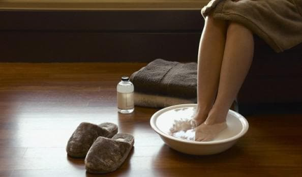 Парение ступней и ладоней