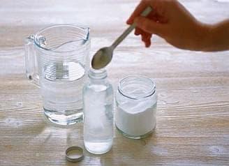 пищевая и поваренная соль для полоскания
