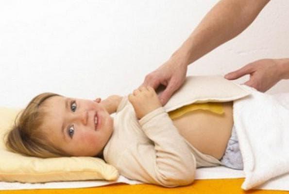 Прогревания грудной клетки