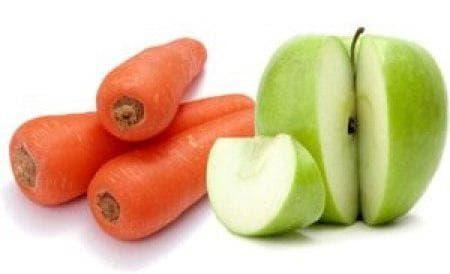 морковные и яблочные капли