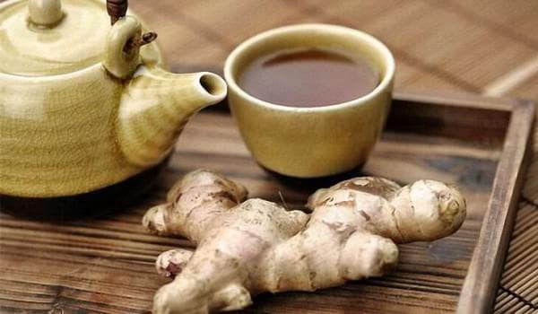 имбирь от кашля лучшего с чёрным чаем