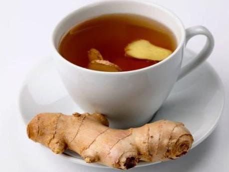 имбирь с чаем