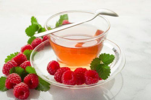 чай с малиной при простуде