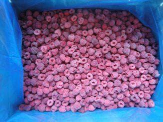 замороженная ягода малина