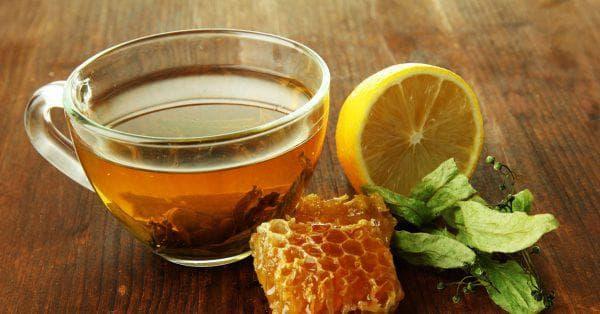 лимон с чаем при простуде