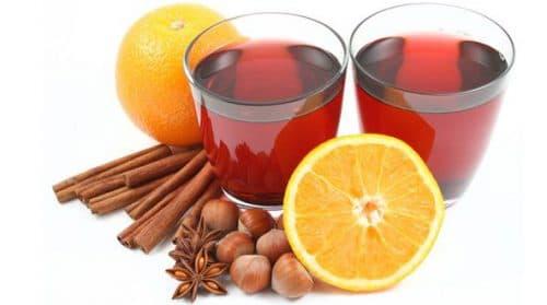 апельсиновый глинтвейн при простуде