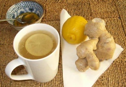 классический чай с имбирем от простуды