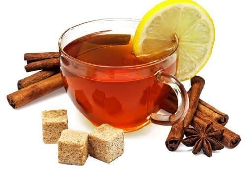 чай с имбирем, кардамоном от простуды