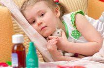 чай с малиной при температуре ребенку