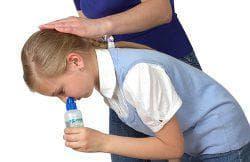 промывание носовых ходов ребёнку