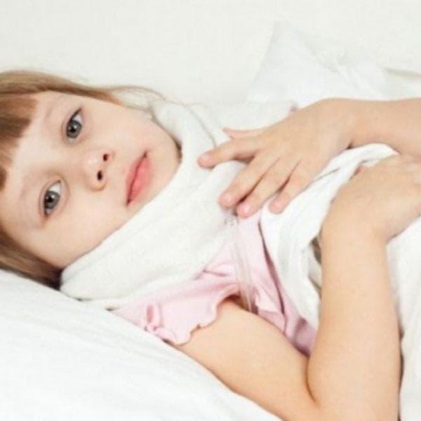Увеличенные миндалины у ребенка фото