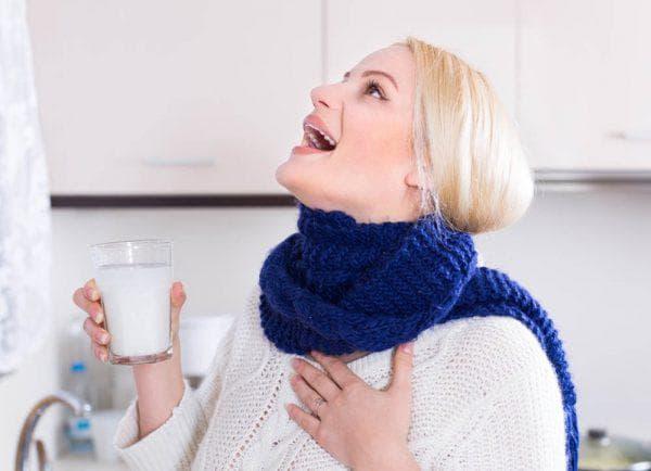 подорожник для полоскания горла