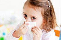у ребенка заложен нос без насморка