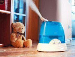 уровень влажности в комнате