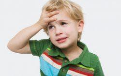 травма головы у ребёнка