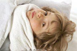 тёплые компрессы для горла ребёнка