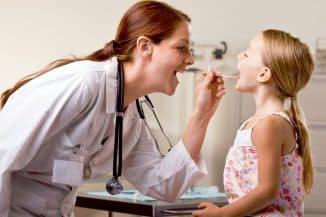 удаление папилломы в горле у детей
