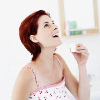 полоскание горла беременной