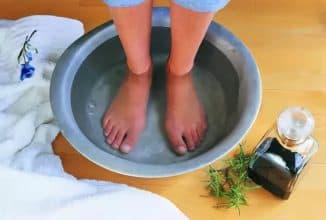 теплые ножные ванны для ребёнка